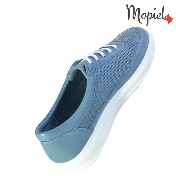 Pantofi dama, din piele naturala 202101 18-SP861 Blue Jessica reduceri incaltaminte