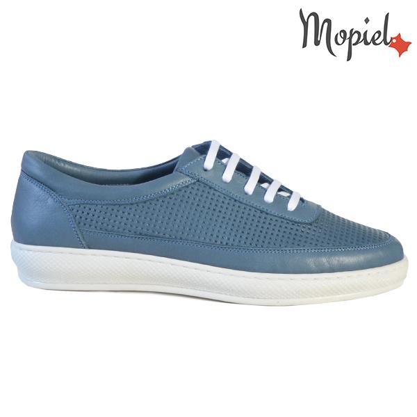 Pantofi dama, din piele naturala 202101 18-SP861 Blue Jessica