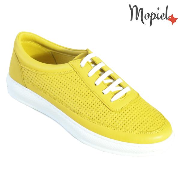 Pantofi dama, din piele naturala 202101 18-SP861 Galben Jessica incaltaminte dama