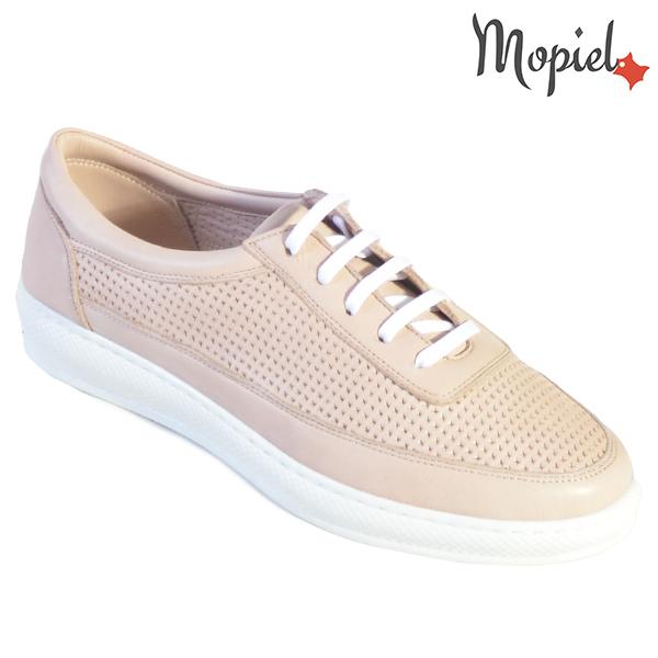 Pantofi dama, din piele naturala 202101 18-SP861 Roz Jessica incaltaminte ieftina