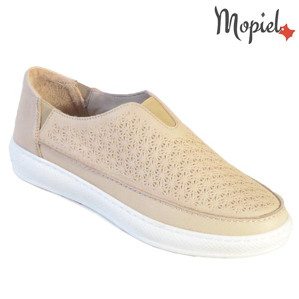 Pantofi dama, din piele naturala 202102 18-SP864 Bej Jessica incaltaminte dama
