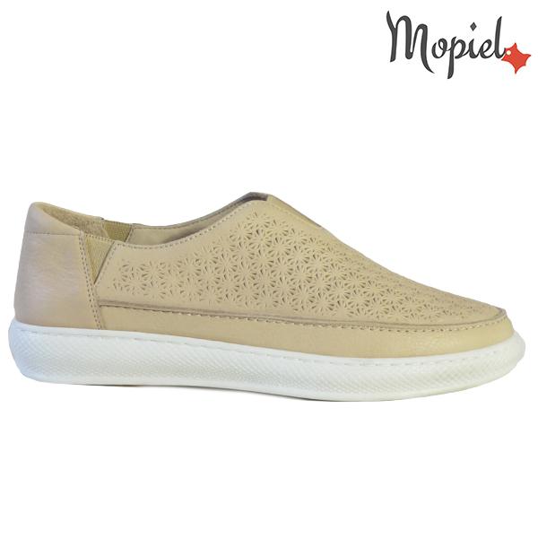 Pantofi dama, din piele naturala 202102 18-SP864 Bej Jessica