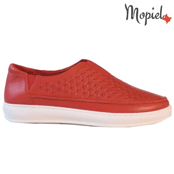 Pantofi dama, din piele naturala 202102 18-SP864 Rosu Jessica