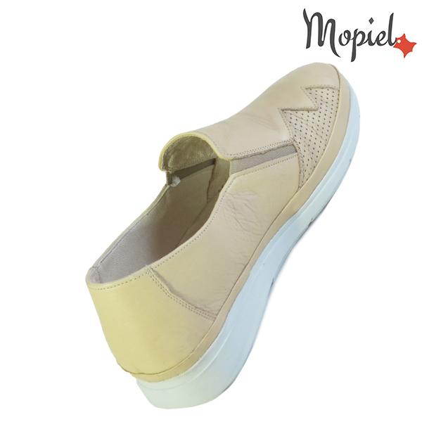 Pantofi dama, din piele naturala 202103 03-4506 Bej Carmen incaltaminte online