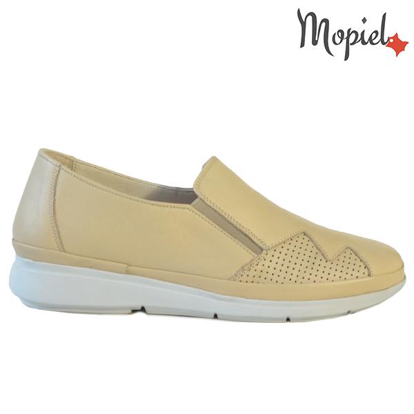 Pantofi dama, din piele naturala 202103 03-4506 Bej Carmen  - Pantofi dama din piele naturala 202103 03 4506 Bej Carmen - Calitate si confort la preturi prietenoase!