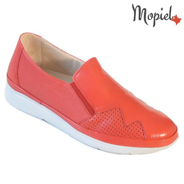 Pantofi dama, din piele naturala 202103 03-4506 Rosu Carmen incaltaminte dama