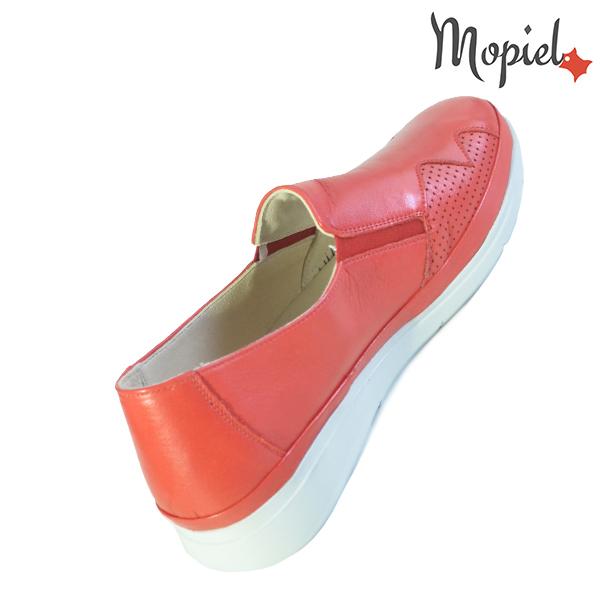 Pantofi dama, din piele naturala 202103 03-4506 Rosu Carmen incaltaminte ieftina
