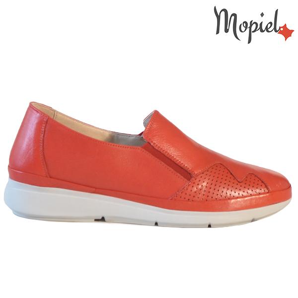 Pantofi dama, din piele naturala 202103 03-4506 Rosu Carmen  - Pantofi dama din piele naturala 202103 03 4506 Rosu Carmen - Calitate si confort la preturi prietenoase!