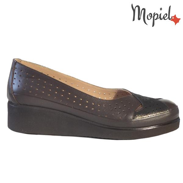 Pantofi dama, din piele naturala 202104 Maro-Sidef Eliza  - Pantofi dama din piele naturala 202104 Maro Sidef Eliza - Calitate si confort la preturi prietenoase!
