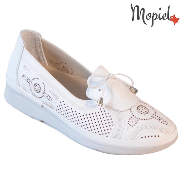 Pantofi dama, din piele naturala 202105 03-45019 Alb Vero incaltaminte dama