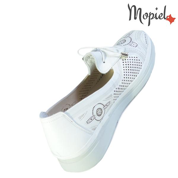 Pantofi dama, din piele naturala 202105 03-45019 Alb Vero incaltaminte online