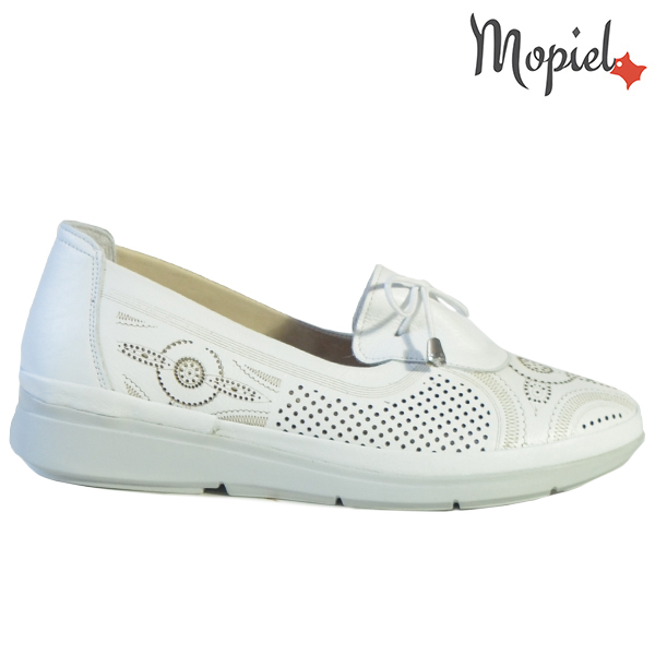 Pantofi dama, din piele naturala 202105 03-45019 Alb Vero  - Pantofi dama din piele naturala 202105 03 45019 Alb Vero - Calitate si confort la preturi prietenoase!