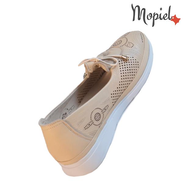 Pantofi dama, din piele naturala 202105 03-45019 Bej Vero incaltaminte online