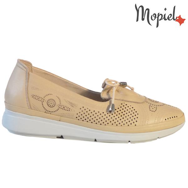 Pantofi dama, din piele naturala 202105 03-45019 Bej Vero  - Pantofi dama din piele naturala 202105 03 45019 Bej Vero - Calitate si confort la preturi prietenoase!