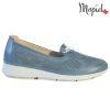 Pantofi dama, din piele naturala 202105 03-45019 Blue Vero