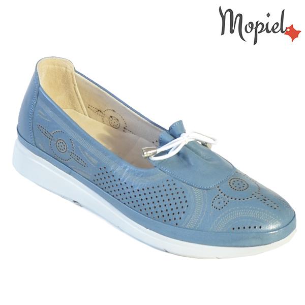 Pantofi dama, din piele naturala 202105 03-45019 Blue Vero incaltaminte dama