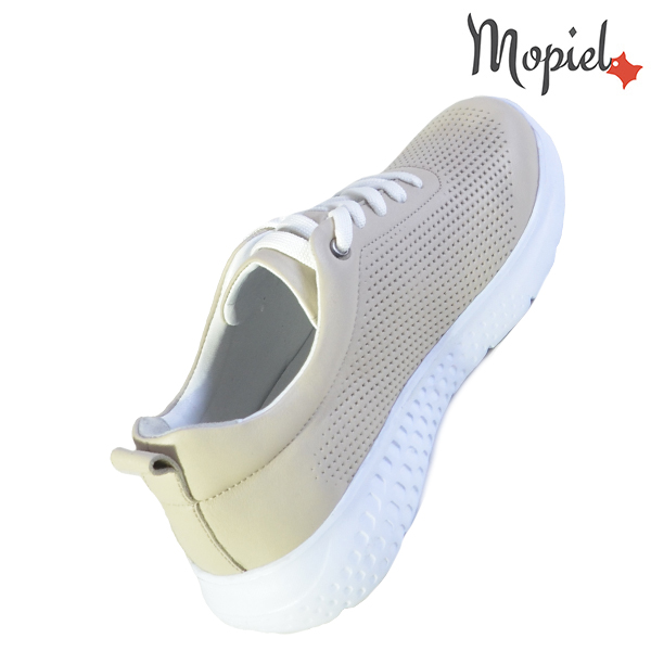 Pantofi dama, din piele naturala 202106 Bej Vanesa reduceri incaltaminte