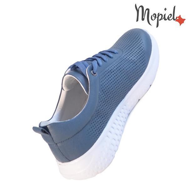 Pantofi dama, din piele naturala 202106 Blue Vanesa incaltaminte piele