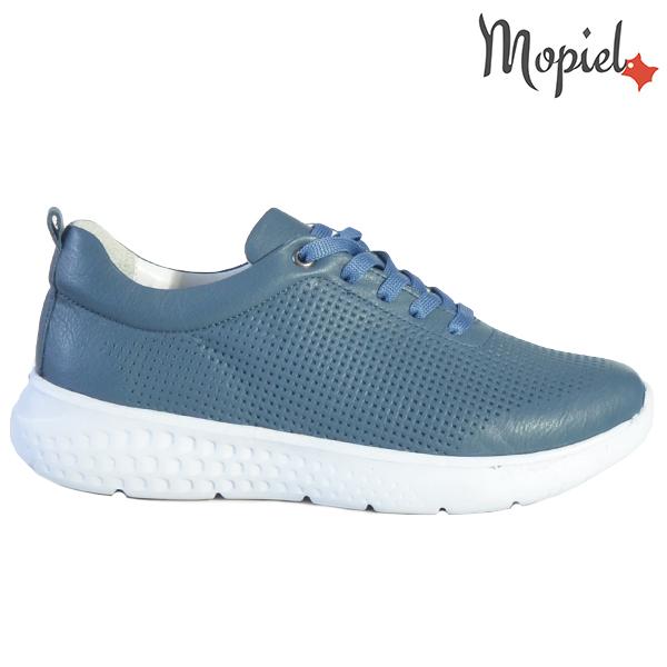 Pantofi dama, din piele naturala 202106 Blue Vanesa