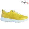 Pantofi dama, din piele naturala 202106 Galben Vanesa