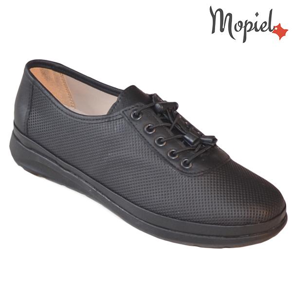 Pantofi dama, din piele naturala 231107 Negru Stela INCALTAMINTE DAMA