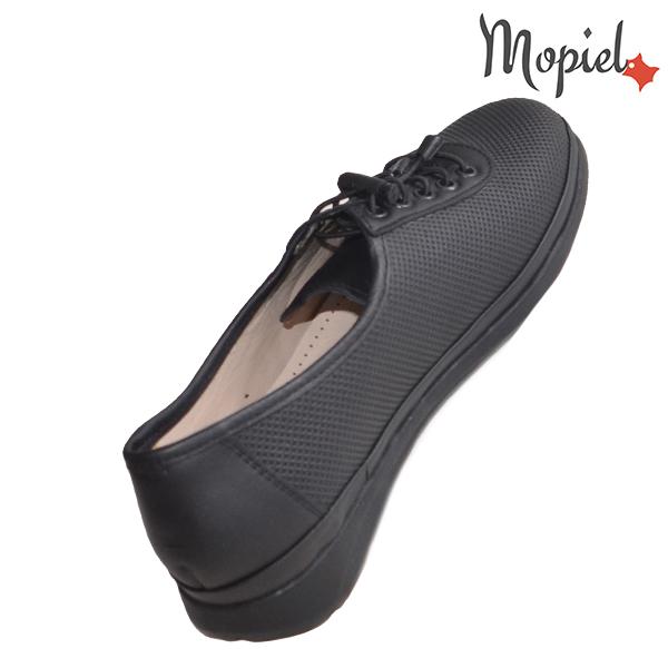 Pantofi dama, din piele naturala 231107 Negru Stela reduceri incaltaminte