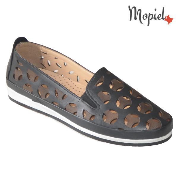 Pantofi dama, din piele naturala 231108 Negru Sidonia incaltaminte dama