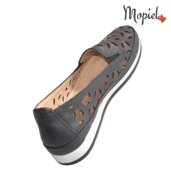 Pantofi dama, din piele naturala 231108 Negru Sidonia incaltaminte fashion