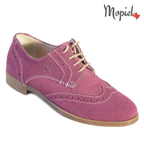 Pantofi dama, din piele naturala 23531 Grena Stepha New incaltaminte dama