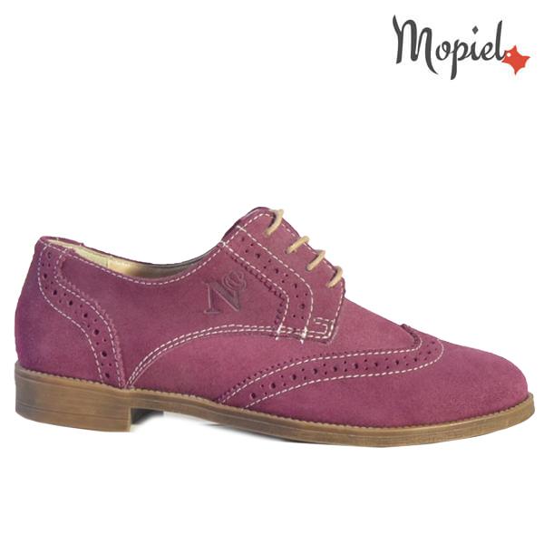 Pantofi dama, din piele naturala 23531 Grena Stepha New  - Pantofi dama din piele naturala 23531 Grena Stepha New - REDUCERI FINALE DE VARA!