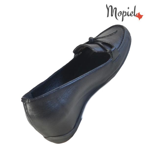 Pantofi dama din piele naturala 24205 Negru Cara incaltaminte ieftina