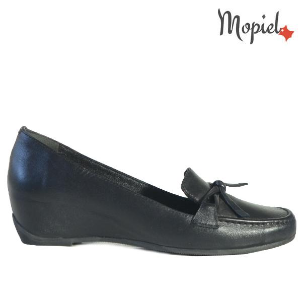 Pantofi dama din piele naturala 24205 Negru Cara  - Pantofi dama din piele naturala 24205 Negru Cara - REDUCERI FINALE DE VARA!