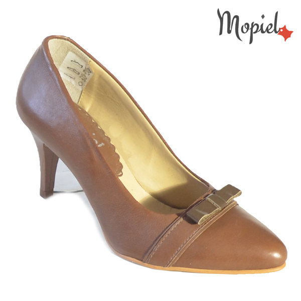 Pantofi dama din piele naturala 24300 Maro Alexandra incaltaminte dama