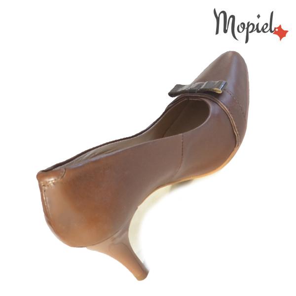 Pantofi dama din piele naturala 24300 Maro Alexandra incaltaminte ieftina