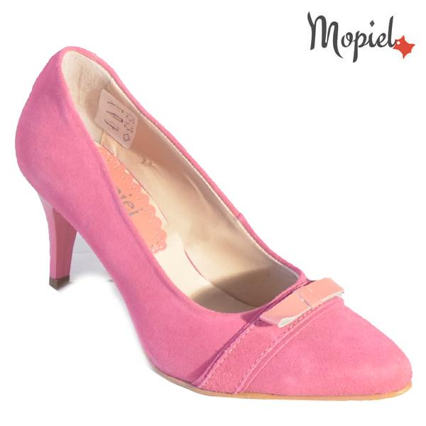Pantofi dama din piele naturala 24300 Roz Alexandra incaltaminte dama
