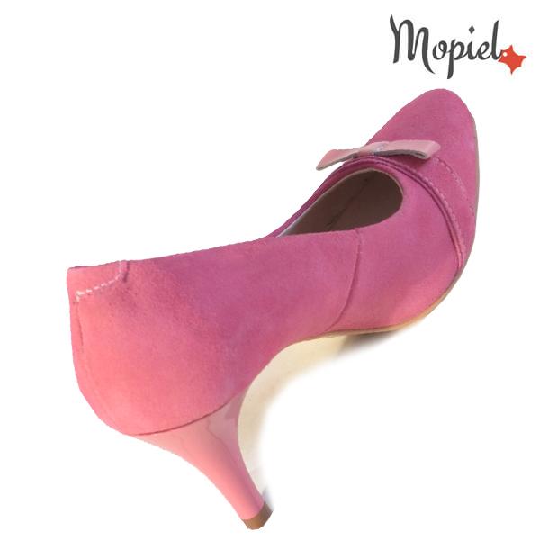Pantofi dama din piele naturala 24300 Roz Alexandra incaltaminte ieftina