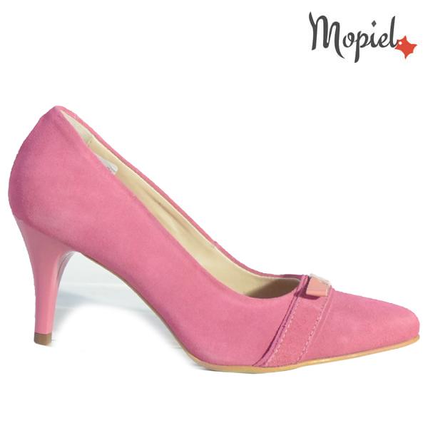 Pantofi dama din piele naturala 24300 Roz Alexandra