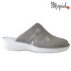 Papuci medicinali din piele naturala 261701 Bej - Inchis Arabela