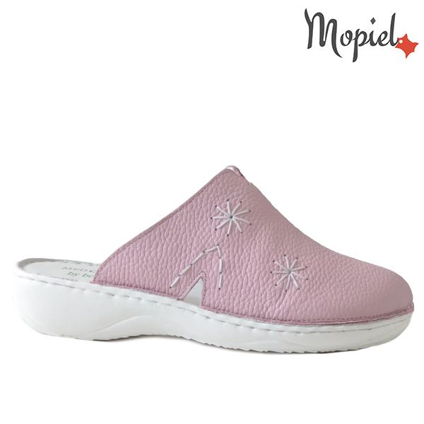 Papuci medicinali din piele naturala 261701 Roz Arabela