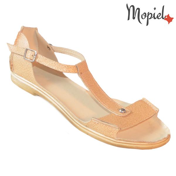 Sandale dama, din piele naturala 25206 Bej Sinem incaltaminte dama