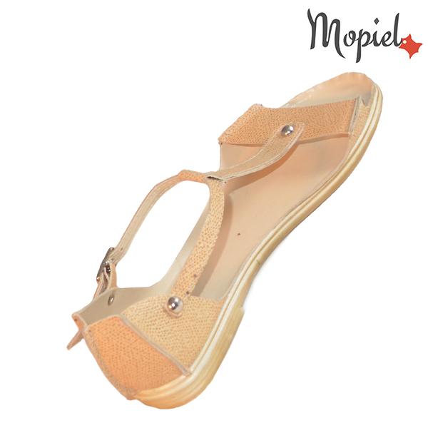Sandale dama, din piele naturala 25206 Bej Sinem incaltaminte piele