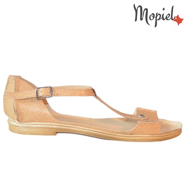 Sandale dama, din piele naturala 25206 Bej Sinem