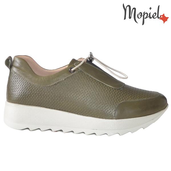 Pantofi dama, din piele naturala 202107 Kaki Diya  - Pantofi dama din piele naturala 202107 Kaki Diya - Calitate si confort la preturi prietenoase!