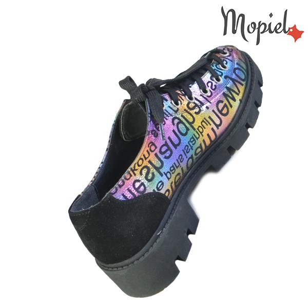 Pantofi dama, din piele naturala 202110 R23 Negru-Jurnal Nasira incaltaminte piele