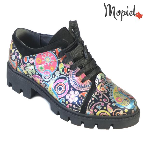 Pantofi dama, din piele naturala 202111 R23 Negru-Florar Nasira incaltaminte dama