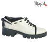 Pantofi dama, din piele naturala 202112 R23 Bej Electra