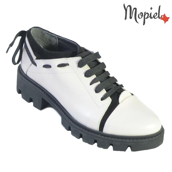 Pantofi dama, din piele naturala 202112 R23 Bej Electra incaltaminte dama