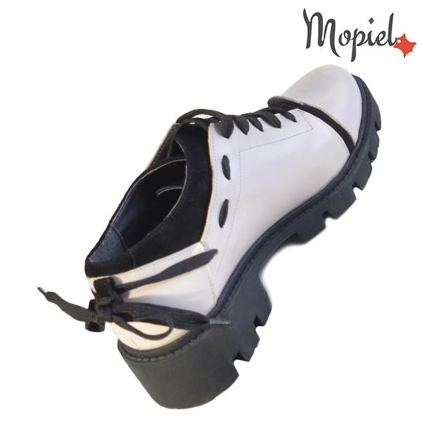 Pantofi dama, din piele naturala 202112 R23 Bej Electra incaltaminte online