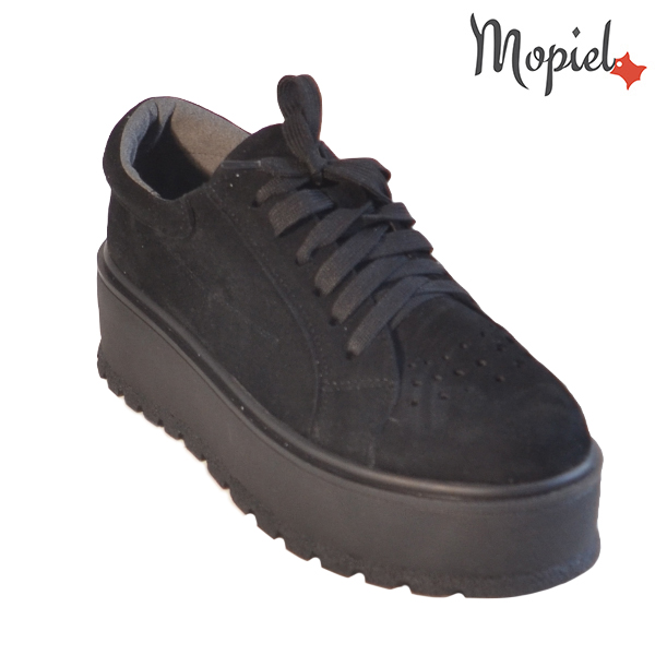 Pantofi dama, din piele naturala 202113 R23 SP-Negru Ginger incaltaminte dama
