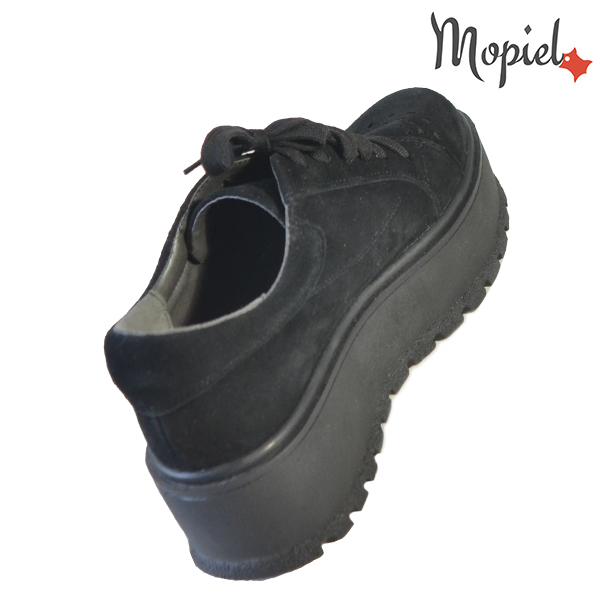 Pantofi dama, din piele naturala 202113 R23 SP-Negru Ginger incaltaminte piele